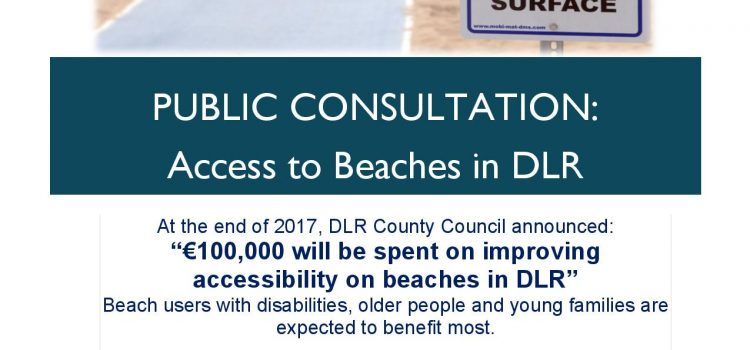 Public Consultation – Accessibility on Beaches in DLR