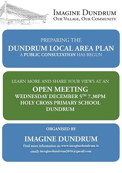 Preparing for the Dundrum Local Area Plan Open Meeting
