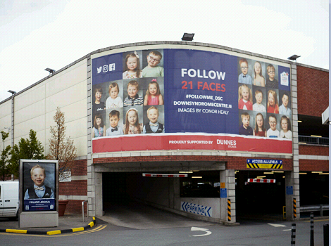 The Down Syndrome Centre's 21 Faces Campaign